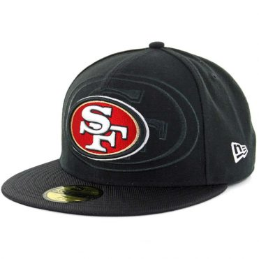 New Era 59Fifty San Francisco 49ers Authentic On Field Sideline 2016 Black Fitted Hat