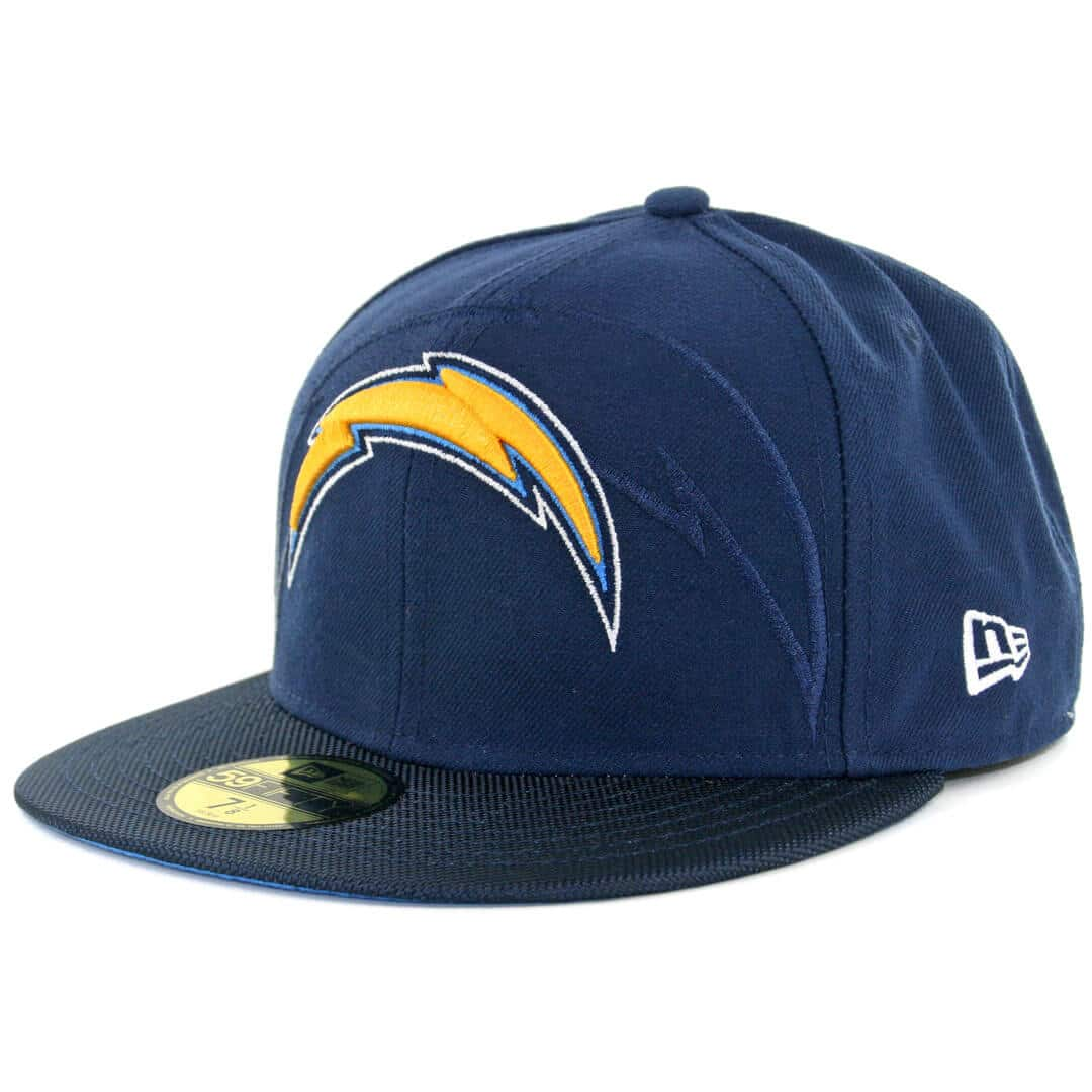 New Era 59fifty San Diego Chargers Authentic On Field