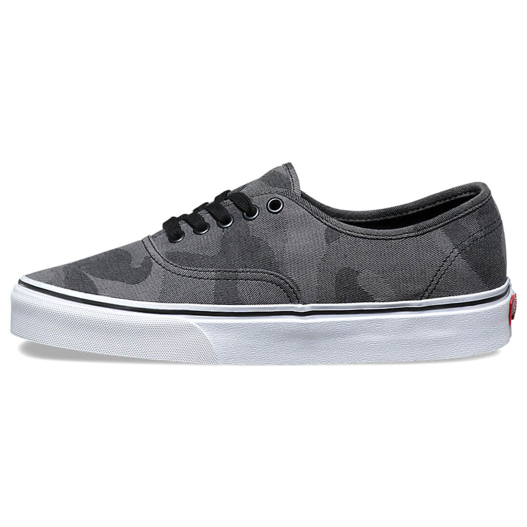 vans camo jacquard authentic shoes