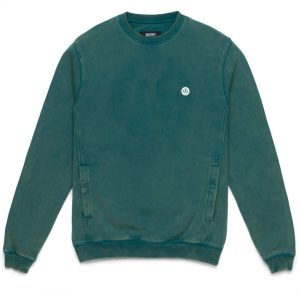 10 Deep Dotted Teal Crewneck Sweatshirt