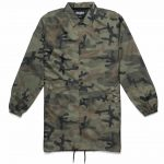 10 Deep Sound & Fury Fade Woodland Coaches Trench Jacket