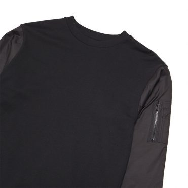 Black Scale MA-1 Black Crewneck Sweatshirt