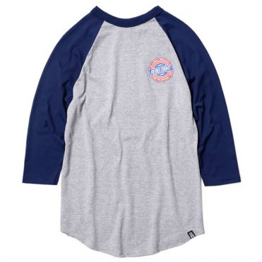 REBEL8 Token Raglan T-Shirt Athletic Heather
