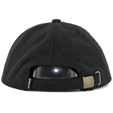10 Deep Double X Strapback Hat Black
