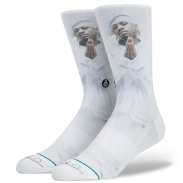 Stance The Answer Socks White