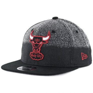 New Era 9Fifty Chicago Bulls Speckle Grade Snapback Hat Black
