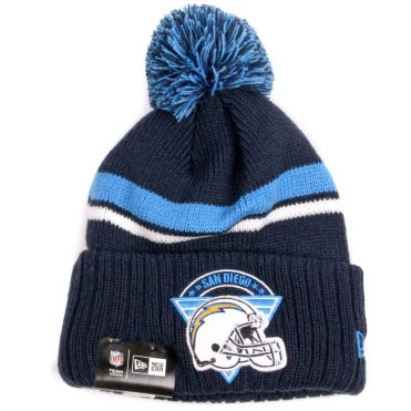 New Era San Diego Chargers Team Stacker Knit Beanie Navy