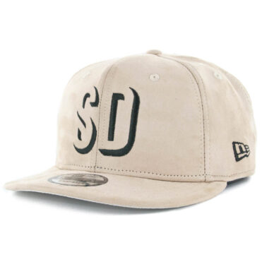 New Era x Billion Creation 9Fifty San Diego Shadow 1904 Snapback Hat Tan