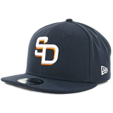 New Era x Billion Creation 9Fifty San Diego Gulls Snapback Hat Navy