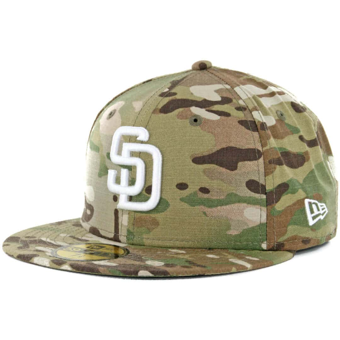 New Era x Billion Creation San Diego Padres Multicam 59FIFTY Fitted Hat 64263ef608c