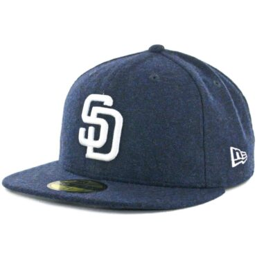 wholesale dealer 39a40 599bc New Era x Billion Creation 59Fifty San Diego Padres Tweed Fitted Hat Navy  ...
