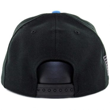 New Era 9Fifty San Diego Chargers Made In America Snapback Hat Black Powder Blue