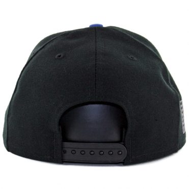 New Era 9Fifty New York Giants Made In America Snapback Hat Black Royal Blue