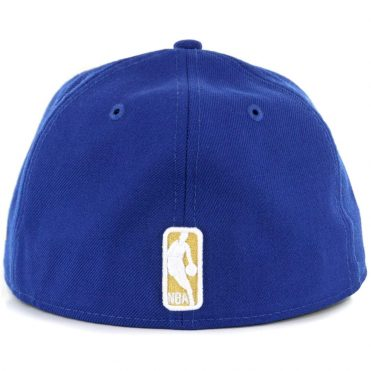 New Era 59Fifty Golden State Warriors Classic Wool Fitted Hat Royal Blue