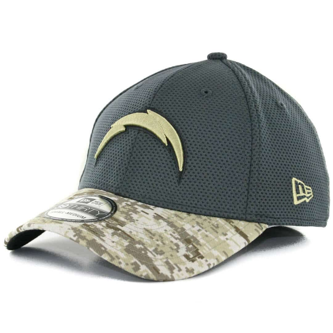New Era 39thirty San Diego Chargers Salute To Service 2016