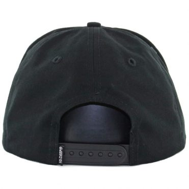 10 Deep Sound & Fury Printed Snapback Hat Black