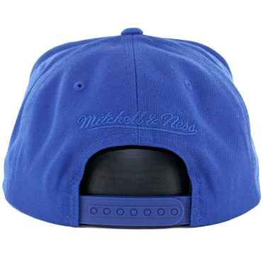 Mitchell & Ness Golden State Warriors Replay Tonal Corduroy Snapback Hat Royal Blue