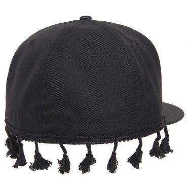 Black Scale Tassel New Era 59Fifty Fitted Hat Black