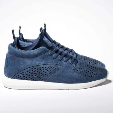 Diamond Supply Co Quest Mid Shoe Navy