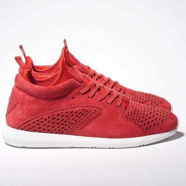Diamond Supply Co Quest Mid Shoe Red