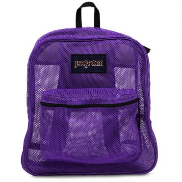 JanSport Mesh Pack Back Pack Purple Night