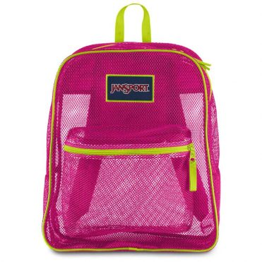 JanSport Mesh Pack Back Pack Cyber Pink