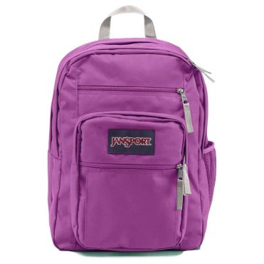 JanSport Big Student Back Pack Purple Plum