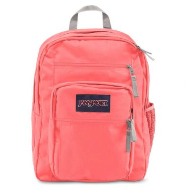 JanSport Big Student Back Pack Coral Sparkle