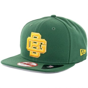 New Era 9Fifty Green Bay Packers Historic Baycik Snapback Hat Green