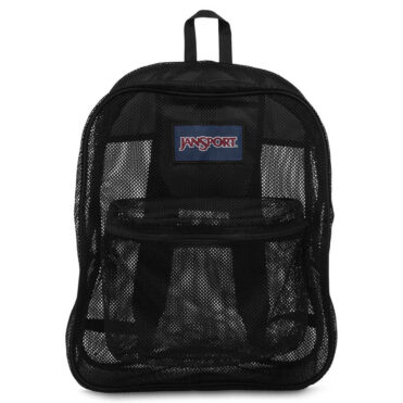 JanSport Mesh Pack Back Pack Black