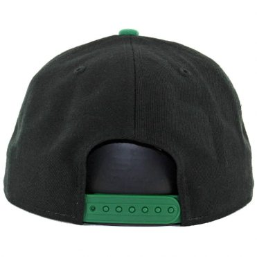 New Era 9Fifty Philadelphia Eagles Historic Baycik Snapback Hat Black Green
