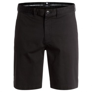 DC Shoes Worker Straight Shorts Black