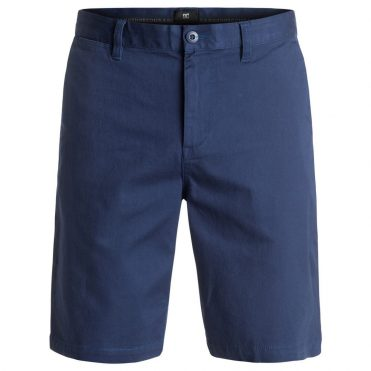 DC Shoes Worker Straight Shorts Summer Blue