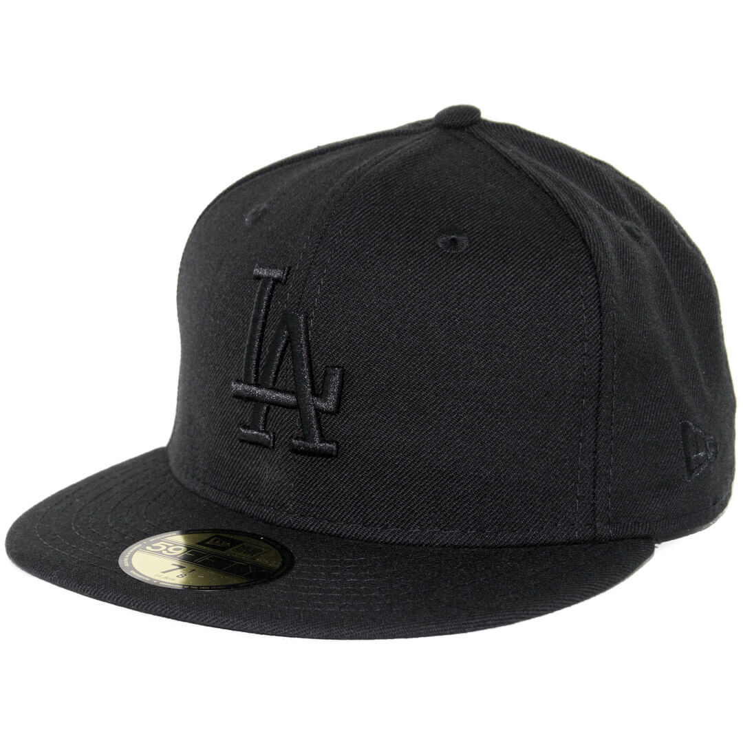 New Era 59Fifty Los Angeles Dodgers Fitted Blackout 3f7f8d5495bf