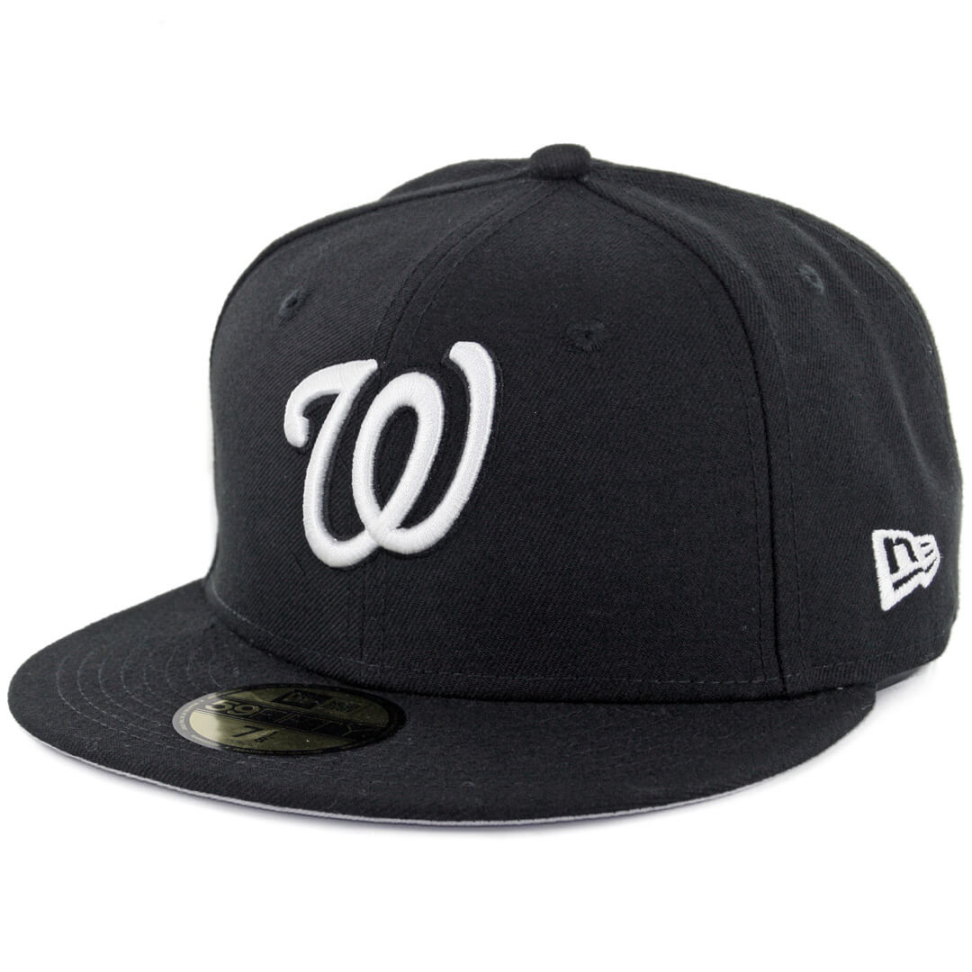 New Era 59Fifty Washington Nationals Fitted Black 79a57e888a5