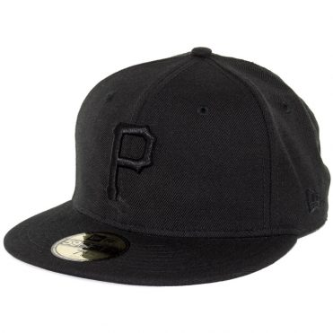 New Era 59Fifty Pittsburgh Pirates 2017 Fitted Blackout, All Black Hat