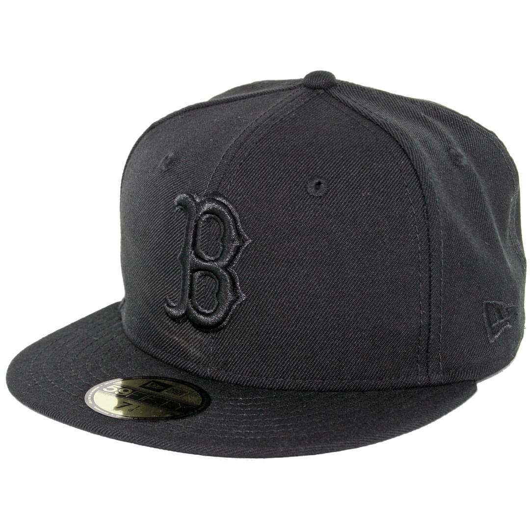 New Era 59Fifty Boston Red Sox Fitted Blackout c618d257132