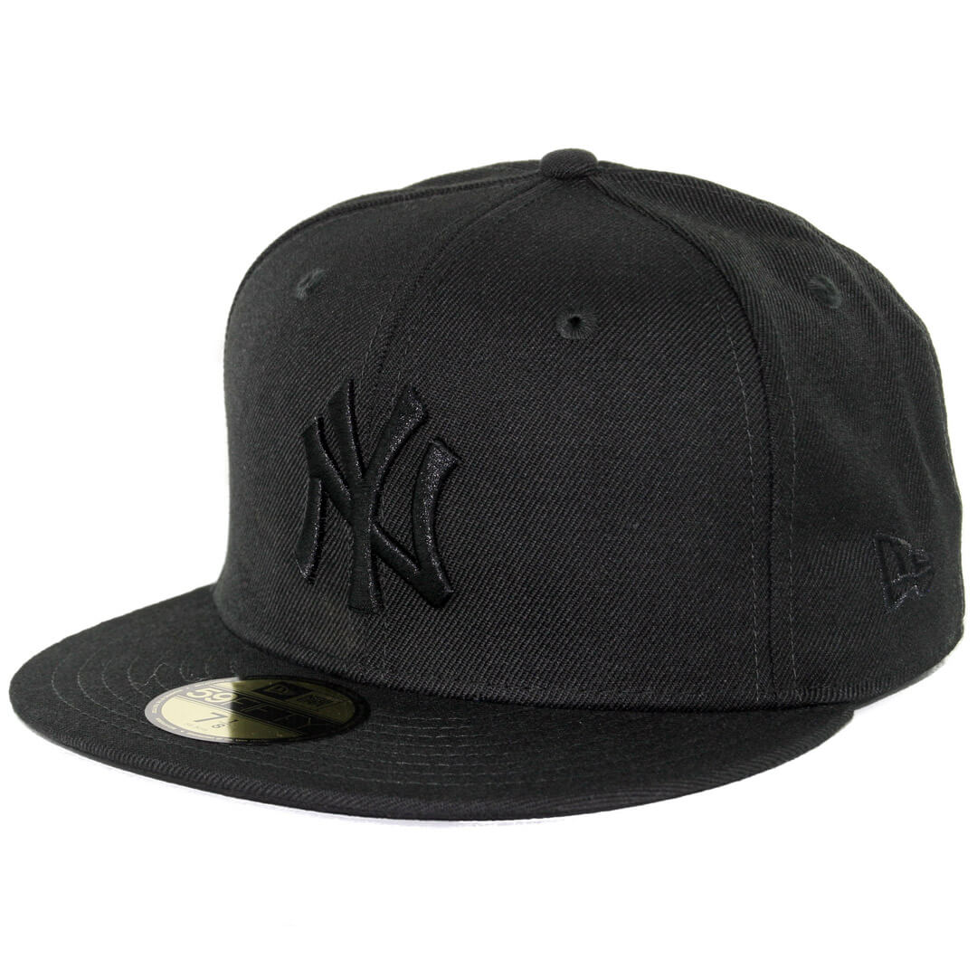 9a1945b4f9b New Era 59Fifty New York Yankees Fitted Blackout