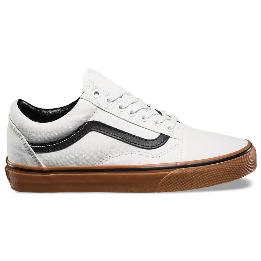 vans old skool canvas gum shoe blanc billion creation streetwear. Black Bedroom Furniture Sets. Home Design Ideas