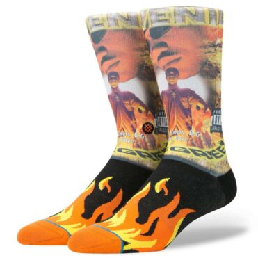 Stance Juvenile Socks Orange