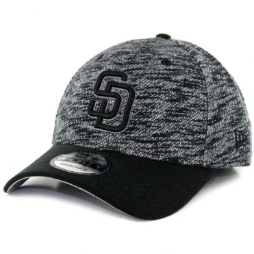 New Era 9Forty San Diego Padres Terry Fresh Snapback Hat Black