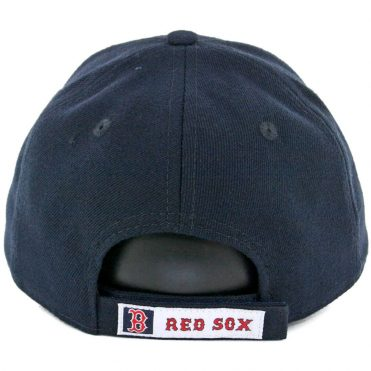 New Era 9Forty Boston Red Sox The League Game Strapback Hat Dark Navy