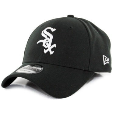 New Era 9Forty Chicago White Sox The League Game Strapback Hat Black