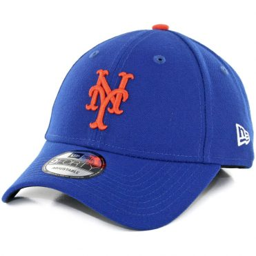 New Era 9Forty New York Mets The League Game Strapback Hat Blue