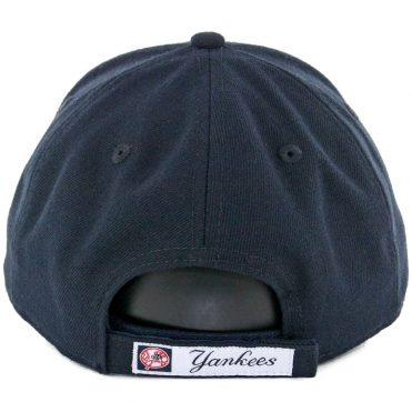 New Era 9Forty New York Yankees The League Game Strapback Hat Dark Navy