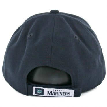 New Era 9Forty Seattle Mariners The League Game Strapback Hat Dark Navy