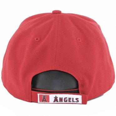 New Era 9Forty Los Angeles Angels The League 2017 Game Strapback Hat Red