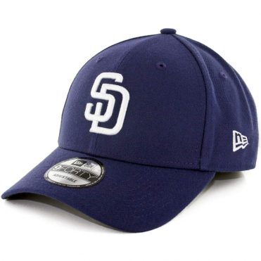 New Era 9Forty San Diego Padres The League Home 2017 Strapback Hat Light Navy