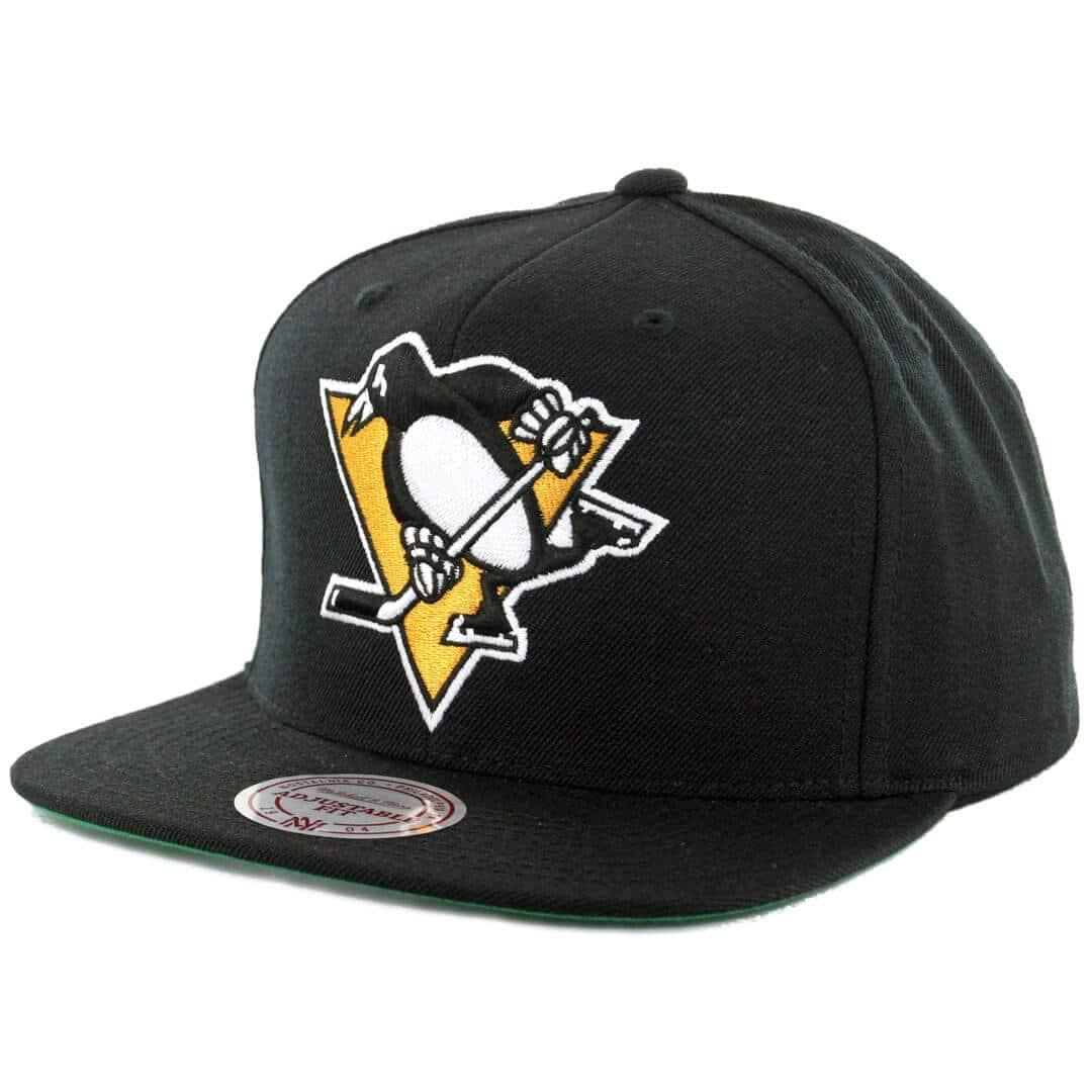 Mitchell   Ness Pittsburgh Penguins Wool Solid Snapback Hat Black - Billion  Creation Streetwear 956b4709e1d7
