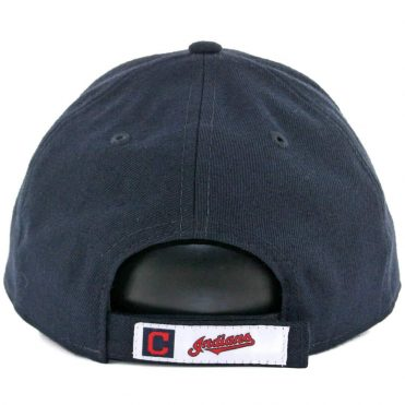 New Era 9Forty Cleveland Indians The League Road Strapback Hat Dark Navy